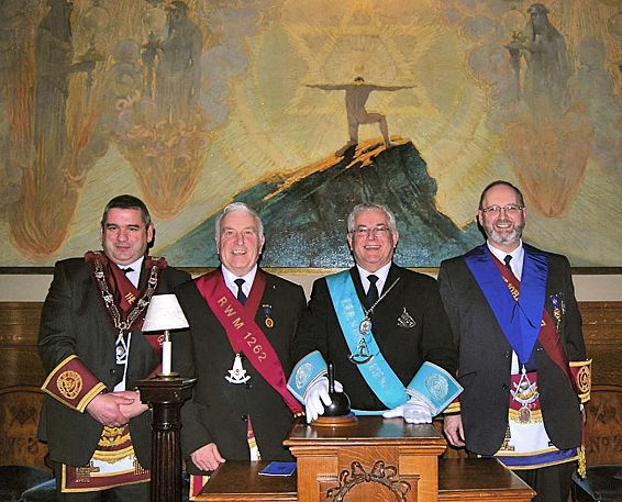 Masters of Wednesday Lodges